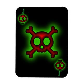 Jack of Skulls Premium Flexi Magnet
