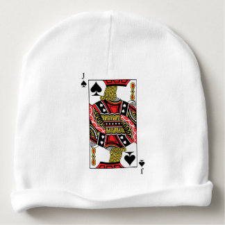 Jack of Spades - Add Your Image Baby Beanie