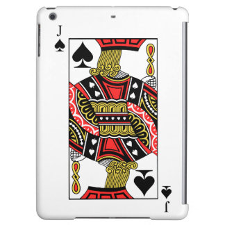 Jack of Spades - Add Your Image Cover For iPad Air