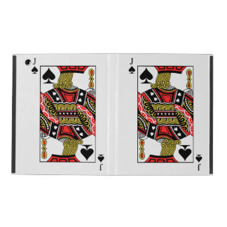 Jack of Spades - Add Your Image iPad Cover
