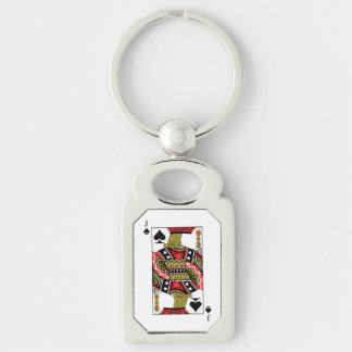 Jack of Spades - Add Your Image Keychain