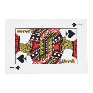 Jack of Spades - Add Your Image Placemat