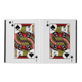 Jack of Spades iPad Cover