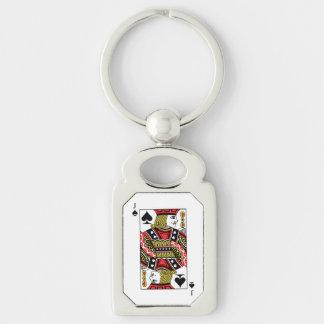 Jack of Spades Keychain
