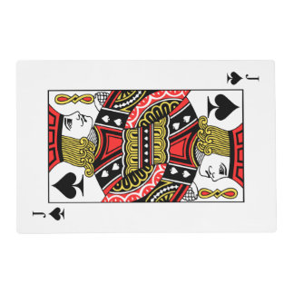Jack of Spades Placemat