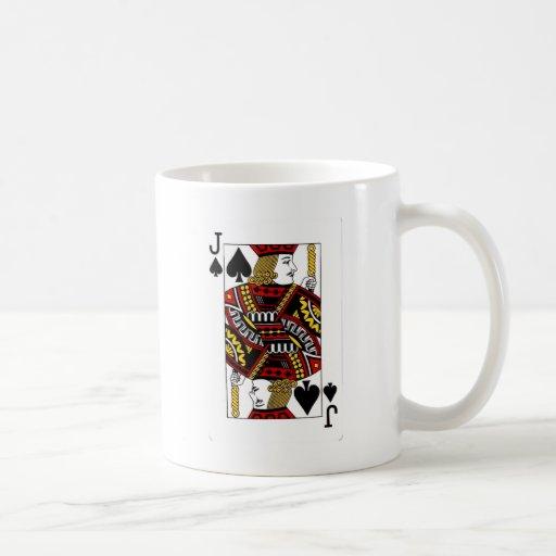 jack of spades.png coffee mug