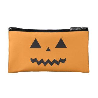 Jack O'Lantern Cosmetic Bags