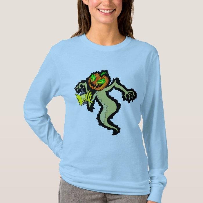 Jack-O'Lantern - Book Of Monsters - Halloween T-Shirt