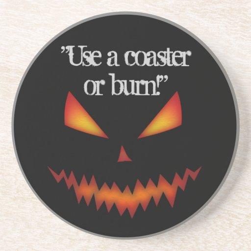 Jack O'Lantern coaster Halloween