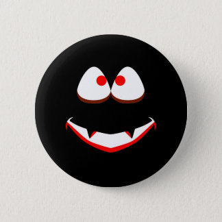 Jack O'Lantern Eyes Pinback Button