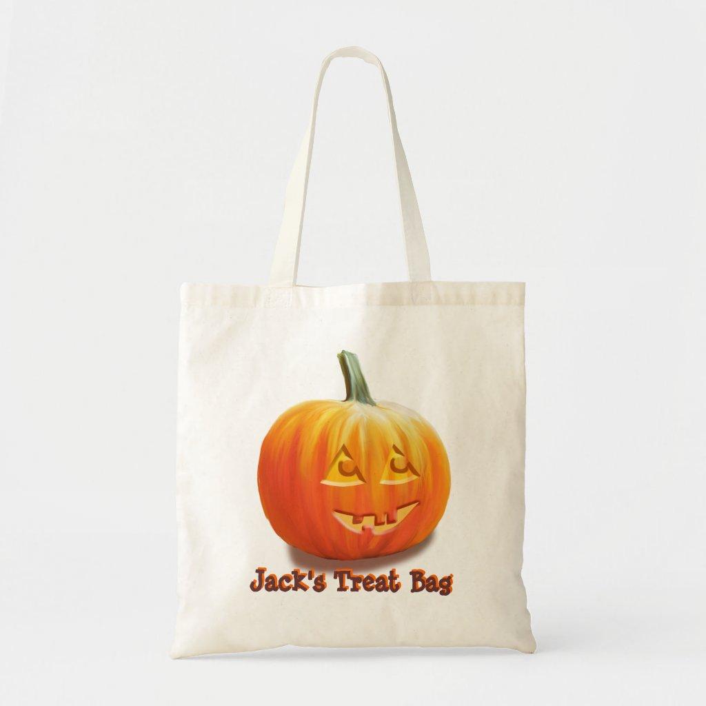Jack O'Lantern Halloween Bags