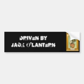 Jack O'lantern Halloween Car Bumper Sticker
