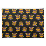 JACK O'LANTERN HALLOWEEN Placemats Cloth Placemat