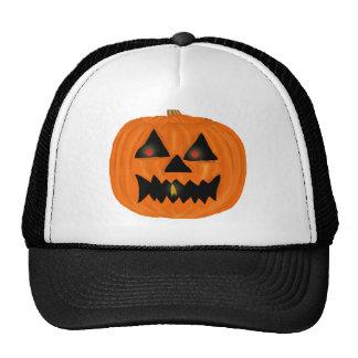 Jack o'lantern hats