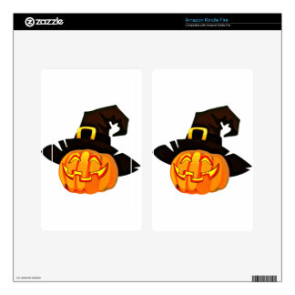 Jack O'Lantern Kindle Fire Decals