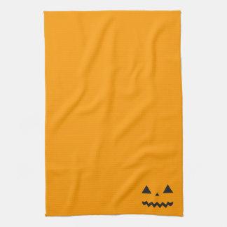 Jack O'Lantern Kitchen Towel