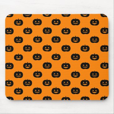 Halloween Themed Jack O'Lantern Mousepad
