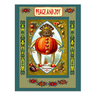 Jack O'Lantern Post Cards