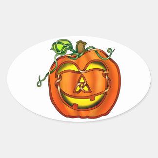 Jack O'Lantern Sticker