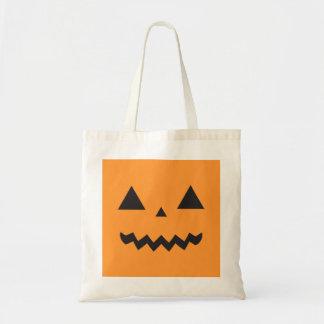 Jack O'Lantern Trick or treat bag