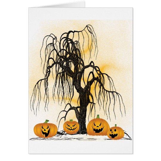 Jack O'Lanterns Card