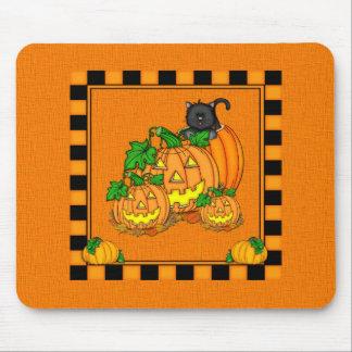 Jack O'Lanterns Halloween Mouse Pads