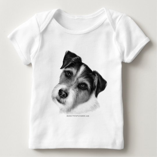 Jack (Parson) Russell Terrier Baby T-Shirt