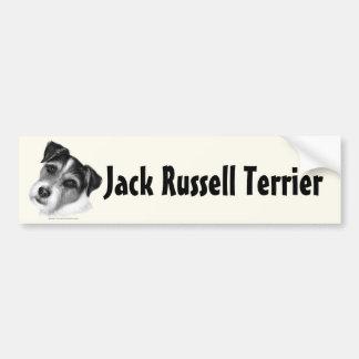Jack (Parson) Russell Terrier Bumper Sticker