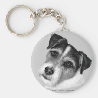 Jack (Parson) Russell Terrier Keychain