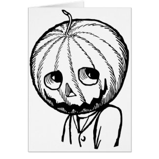 Jack Pumpkinhead Card