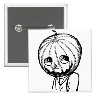 Jack Pumpkinhead Pinback Button