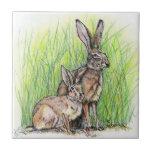 Jack Rabbit Royalty Ceramic Tile