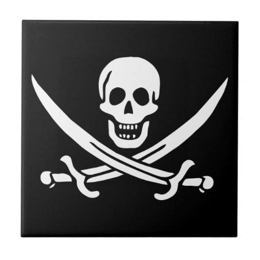 Jack Rackham; Bandera alegre de Rogelio; Pirata Azulejos