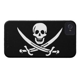 Jack Rackham; Bandera alegre de Rogelio; Pirata Case-Mate iPhone 4 Protector