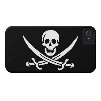 Jack Rackham; Bandera alegre de Rogelio; Pirata Case-Mate iPhone 4 Carcasas