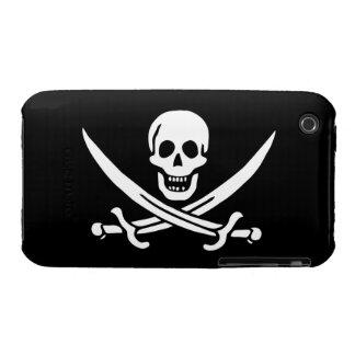 Jack Rackham; Bandera alegre de Rogelio; Pirata Case-Mate iPhone 3 Protectores