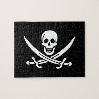 Jack Rackham; Bandera alegre de Rogelio; Pirata Rompecabezas Con Fotos