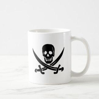 Jack Rackham-Black Coffee Mug