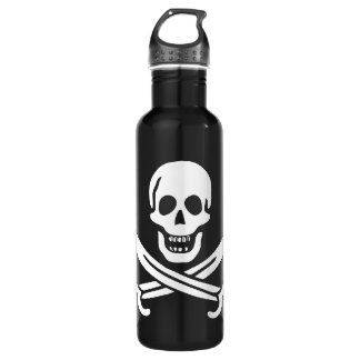 Jack Rackham Calico Jack Stainless Steel Water Bottle