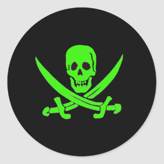 Jack Rackham-Green Classic Round Sticker