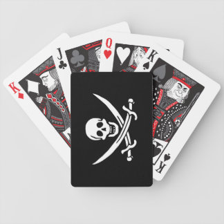 Jack Rackham; Jolly Roger Flag; Pirate Bicycle Playing Cards