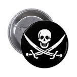Jack Rackham; Jolly Roger Flag; Pirate Button