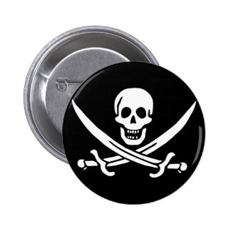 Jack Rackham; Jolly Roger Flag; Pirate Button