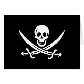 Jack Rackham; Jolly Roger Flag; Pirate Card