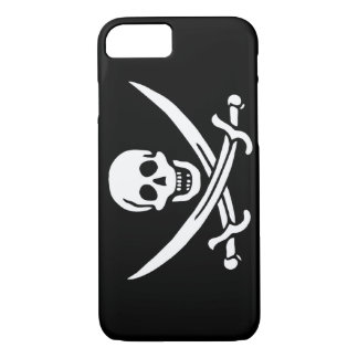 Jack Rackham; Jolly Roger Flag; Pirate iPhone 8/7 Case