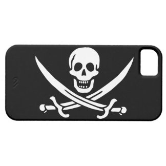 Jack Rackham; Jolly Roger Flag; Pirate iPhone SE/5/5s Case