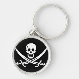 Jack Rackham; Jolly Roger Flag; Pirate Key Chain