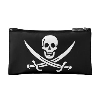 Jack Rackham; Jolly Roger Flag; Pirate Makeup Bag