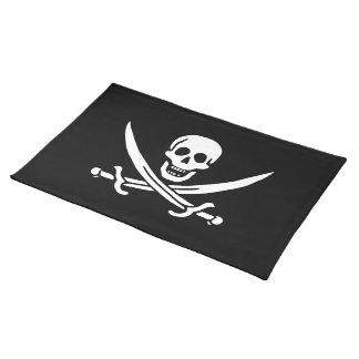 Jack Rackham; Jolly Roger Flag; Pirate Place Mats