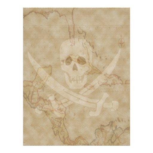 """Jack Rackham Map #11 8.5"""" X 11"""" Flyer"""